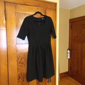 41Hawthorn Black 3/4 Sleeve Dress